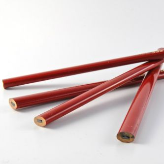 Bouwpotlood rood 240 mm