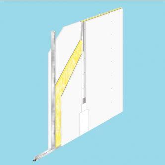 Metalstud 75/1.50.1.A hoogte 2,80 m¹