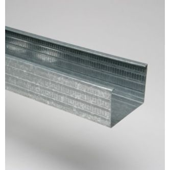 MSV 100 4000 mm verticaal metalstudprofiel