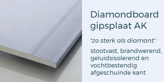 Diamondboard gipsplaten