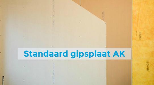 standaard gipsplaat AK